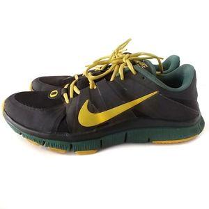 Sample Nike Free 5.0 Oregon Ducks Sneakers Size 12